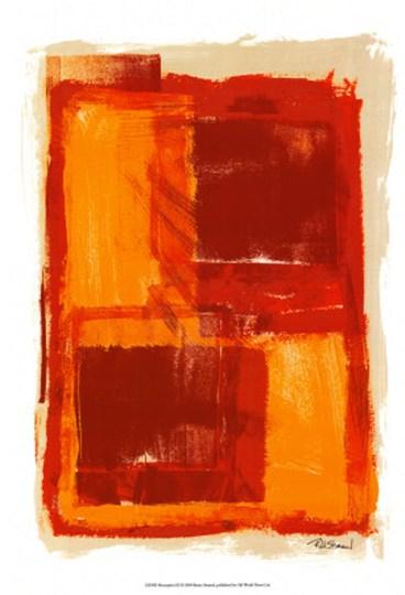 Monoprint III by Renee Stramel art print