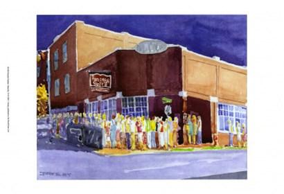 Pancake Paradise, Nashville, TN by J. Presley art print