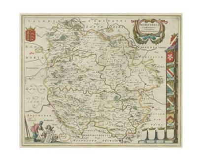 Herefordia Map art print