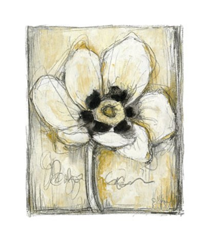 Kinetic Blooms II by Jennifer Goldberger art print