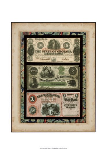 Money, Money, Money I art print