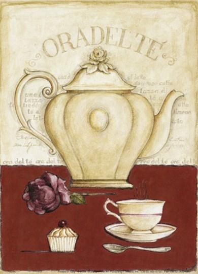 Oradelte ad Cupcake by G. P. Mepas art print