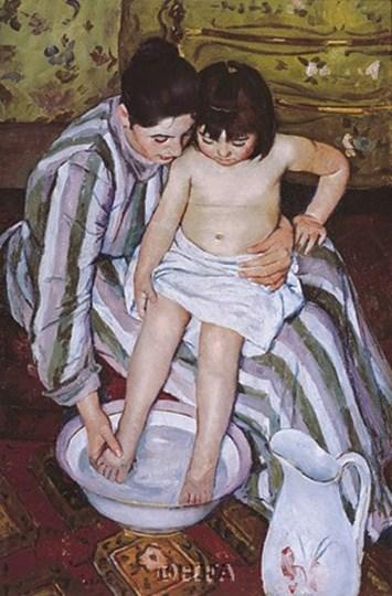 The Bath by Mary Cassatt art print