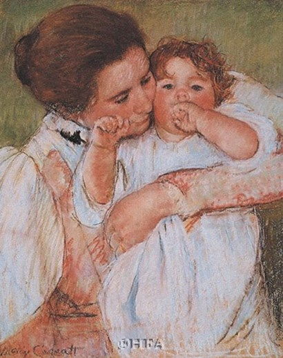 Mother and Child by Mary Cassatt art print