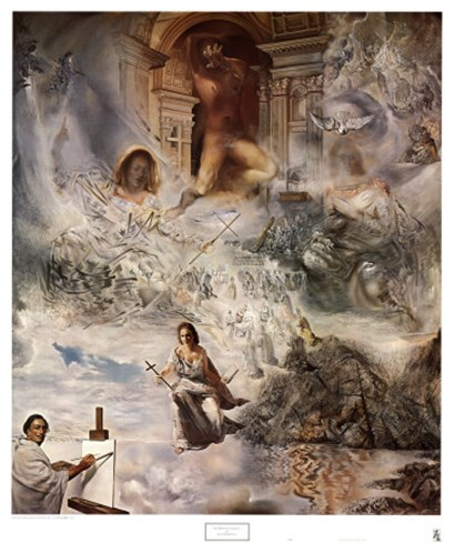 Ecumenical Council, c.1960 by Salvador Dali art print