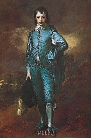 The Blue Boy by Thomas Gainsborough art print