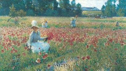 In Flanders Fields by Robert William Vonnoh art print