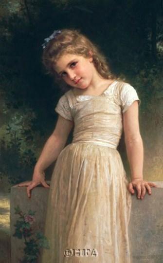 L'Espieglerie by William Adolphe Bouguereau art print