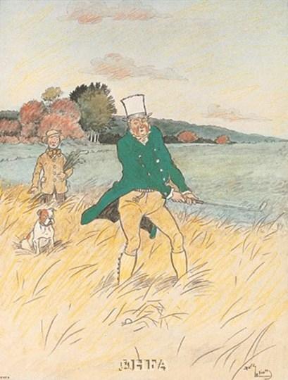 In The Rough by Harry Eliott art print