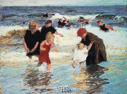 Bathers by Edward Henry Potthast art print