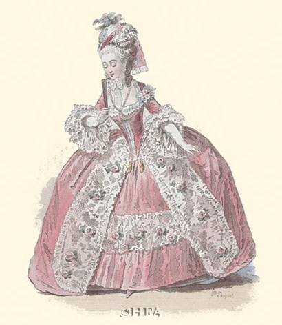 French Costumes by P. Pauquet art print
