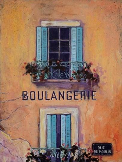 Boulangerie by Karel Burrows art print