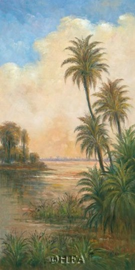 Tropical Serenity I by Peter Davidson art print