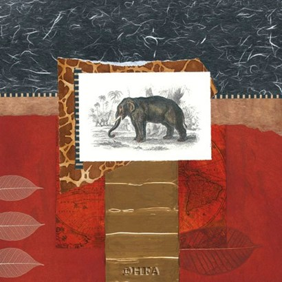 Savannah Elephant by Bryan Martin art print