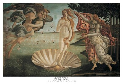 Birth of Venus by Sandro Botticelli art print