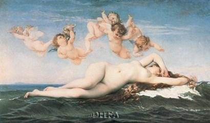 La Naissance de Venus by Alexandre Cabanel art print