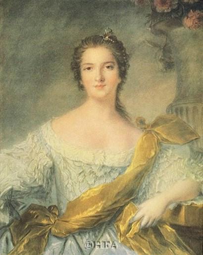Madame Victoire de France by J.m. Nattier (d'apres) art print