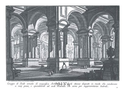 Rotonda by Francesco Piranesi art print