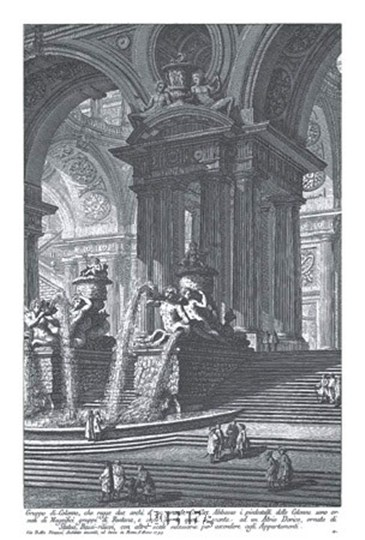 Gruppo di Colonne by Francesco Piranesi art print