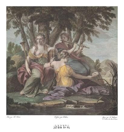 Muses No. V by Eustache Le Sueur art print