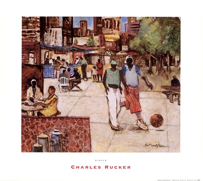 Harlem by Charles Rucker art print