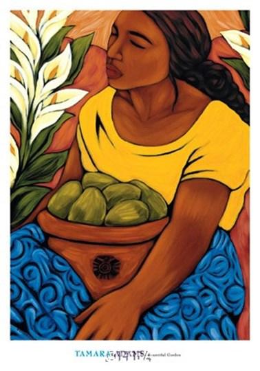 Bountiful Garden by Tamara Adams art print