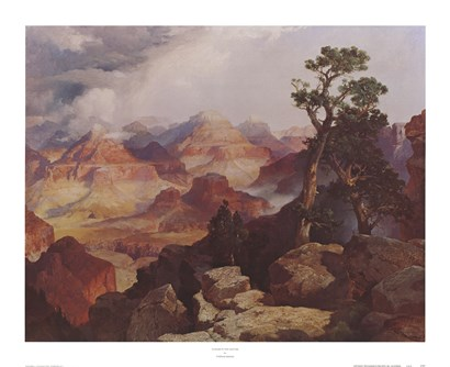 Clouds in the Canyon by Thomas Moran art print