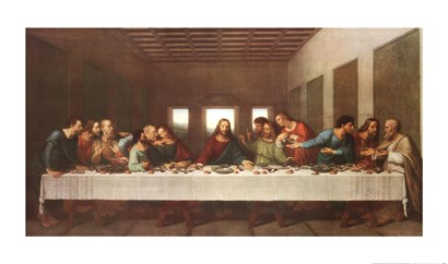 The Last Supper by R. Stang art print
