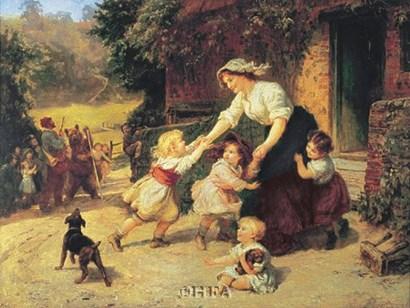 Dancing Bear by Frederick Morgan art print