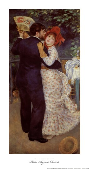 Dance in the Country by Pierre-Auguste Renoir art print