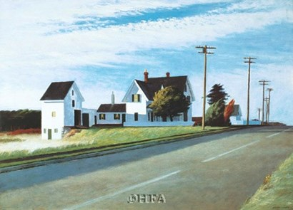 Route 6, Eastham by Edward Hopper art print