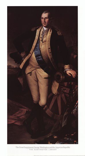 George Washington, 1779 by Charles Wilson Peale art print