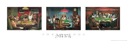 Poker Dogs by Cassius Marcellus Coolidge art print