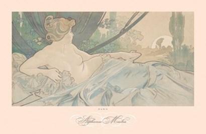 Dawn by Alphonse Mucha art print