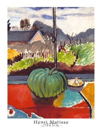 The Green Pumpkin by Henri Matisse art print