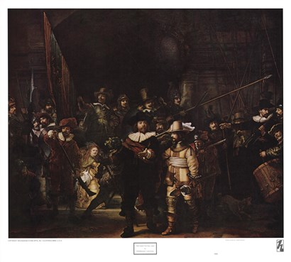 Night Watch by Rembrandt van Rijn art print