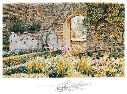 Sissinghurst by David Coolidge art print