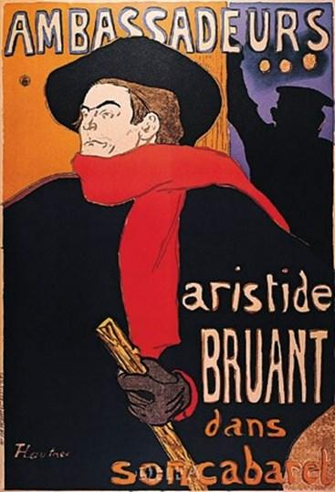 Ambassadeurs by Henri de Toulouse-Lautrec art print