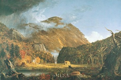 Notch of the White Mountains by Thomas Cole art print