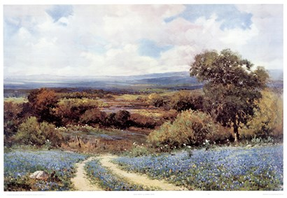 Texas Spring by Robert Wood art print
