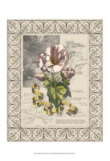 Garden for June III by Deborah Bookman art print