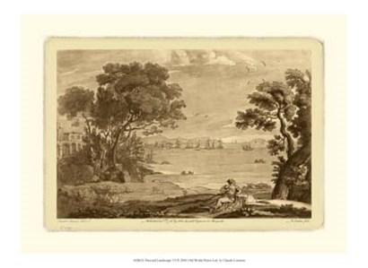 Pastoral Landscape VI by Claude Lorrain art print