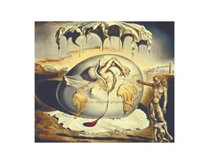 Geopoliticus Child Watching the Birth of the New Man, c.1943 by Salvador Dali art print