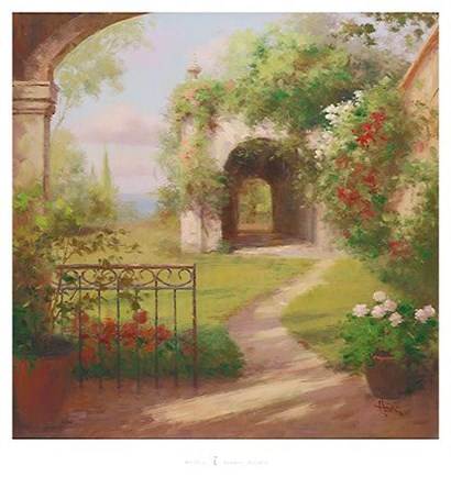 Summer Garden by Haibin  art print