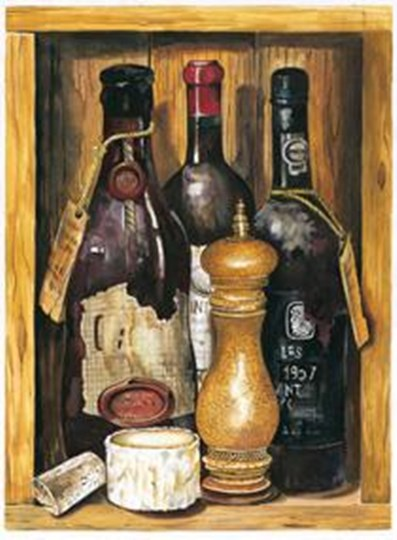 Wine #3 by Giansi art print