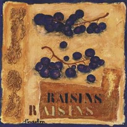 Raisins by Francoise Persillon art print