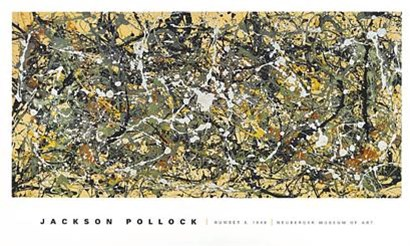 Number 8, 1949 by Jackson Pollock art print