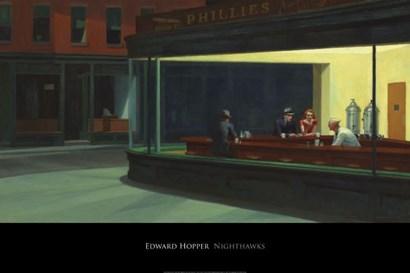 Nighthawks, 1942 by Edward Hopper art print