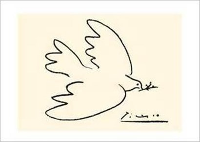 Dove of Peace (serigraph) by Pablo Picasso art print