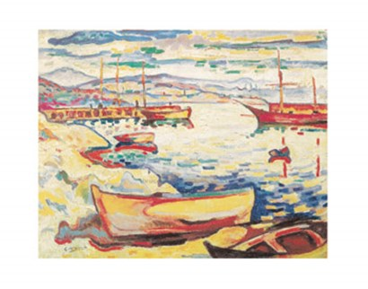 Port of L'Estaque, 1906 by Georges Braque art print